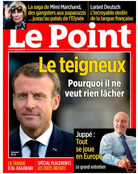 Le point teigneux